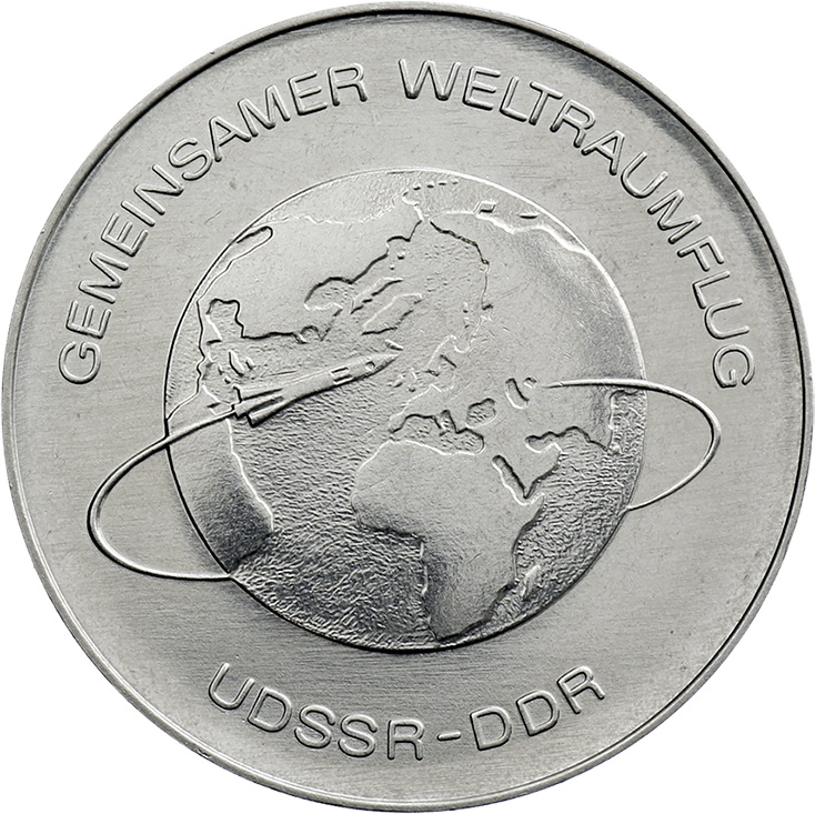 DDR 10 Mark 1978 Weltraumflug