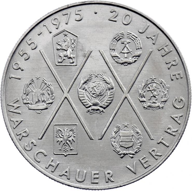 DDR 10 Mark 1975 Warschauer Vertrag