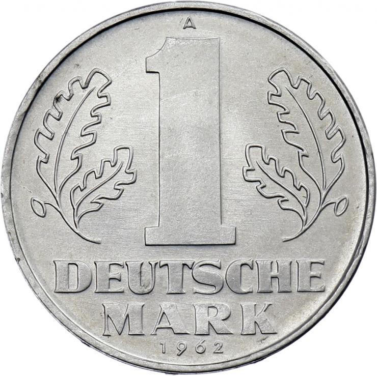 DDR 1 Deutsche Mark (Alu) prfr.