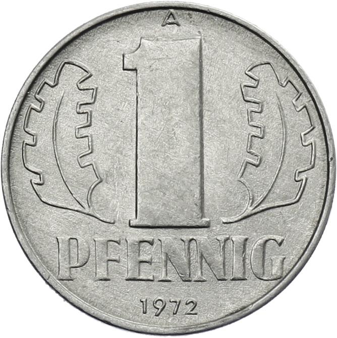 DDR 1 Pfennig (Alu) prfr.