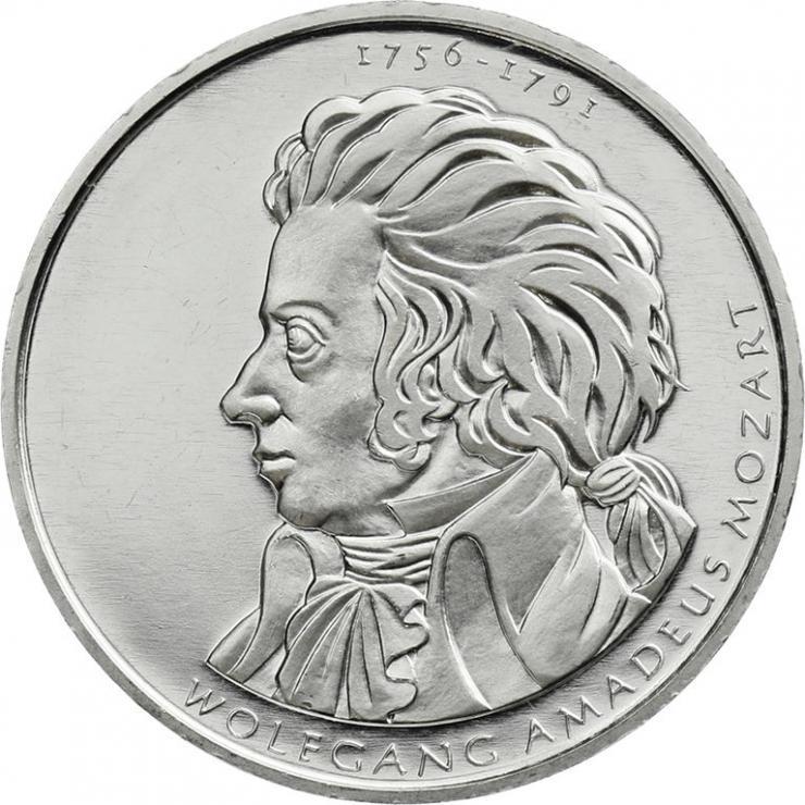 Deutschland 10 Euro 2006 Mozart PP