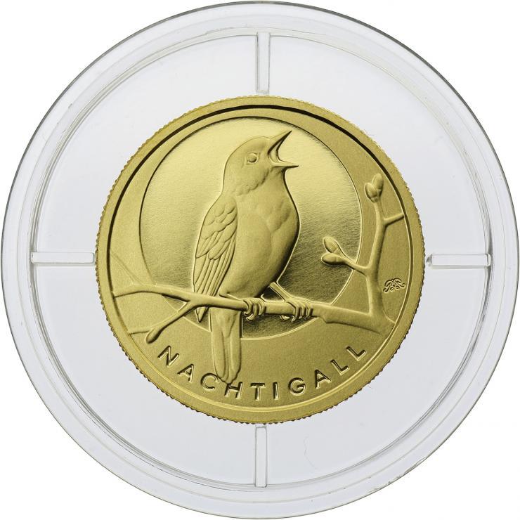 Deutschland 20 Euro 2016 Nachtigall (Gold)