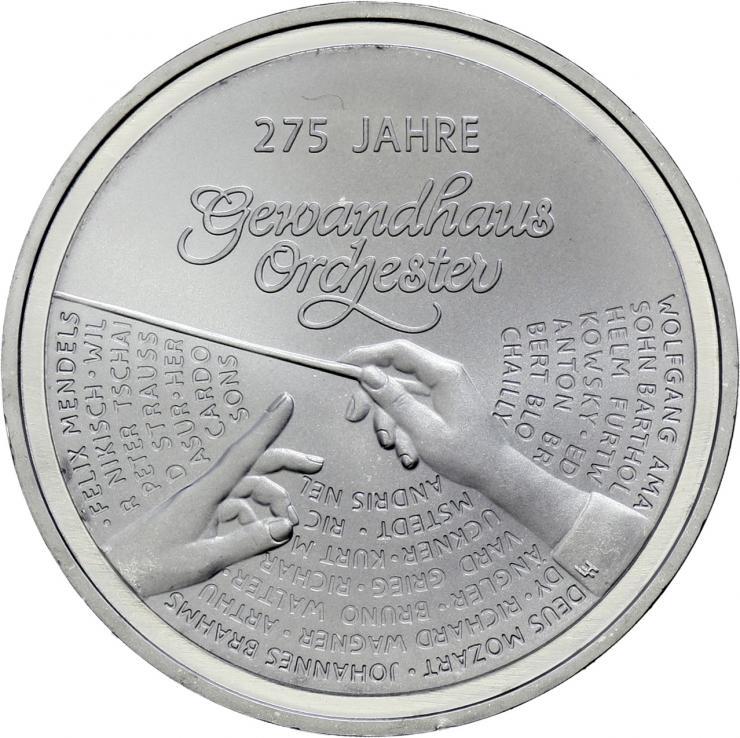 Deutschland 20 Euro 2018 Gewandhausorchester prfr