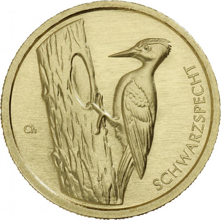 Deutschland 20 Euro 2021 Schwarzspecht (Gold)