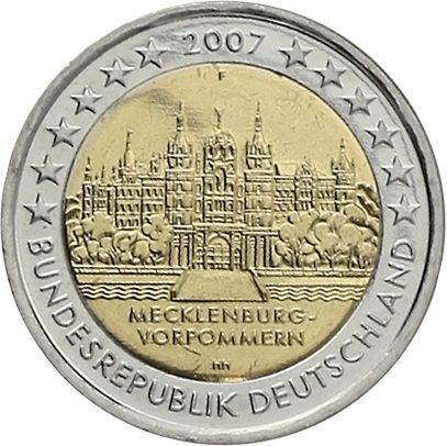 Deutschland 2 Euro 2007 Schwerin