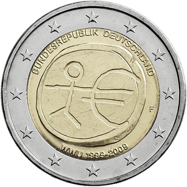 Deutschland 2 Euro 2009 WWU