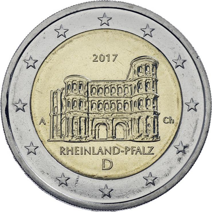 Deutschland 2 Euro 2017 Rheinland-Pfalz prfr