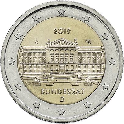Deutschland 2 Euro 2019 Bundesrat prfr