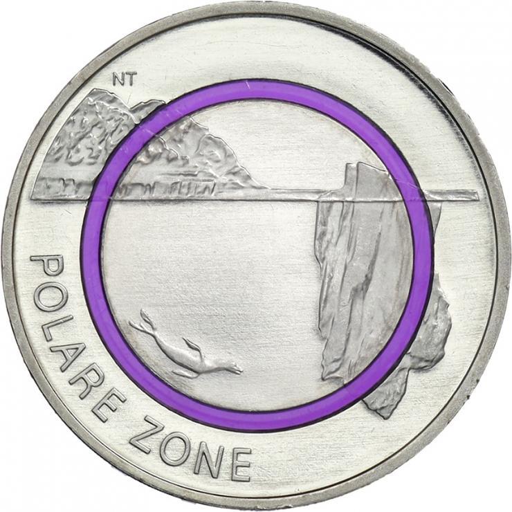 Deutschland 5 Euro 2021 Polare Zone prfr