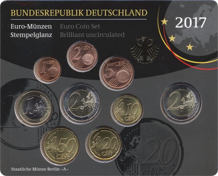 Deutschland Euro-KMS 2017 stg