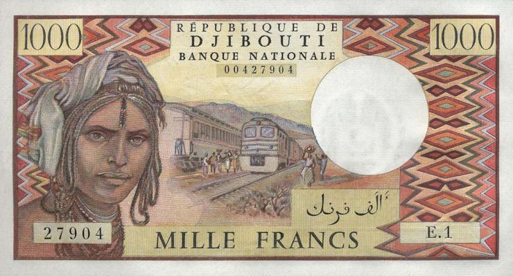 Djibouti P.37a 1000 Francs (1979) (1)