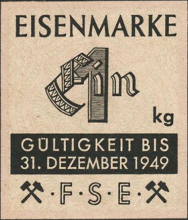 Eisenmarken - Ersatzgeld FSE 1 kg (1)