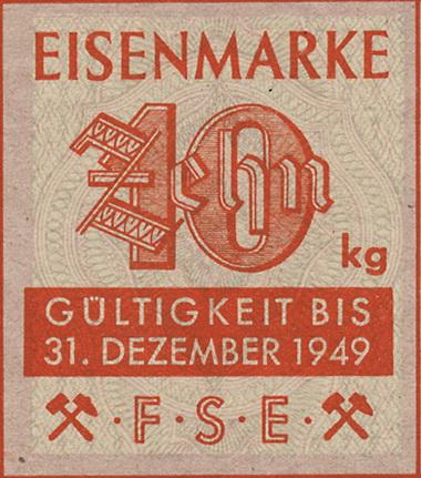 Eisenmarken - Ersatzgeld FSE 10 kg (1)