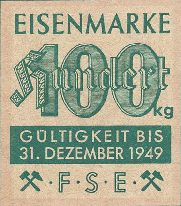 Eisenmarken - Ersatzgeld FSE 100 kg (1)