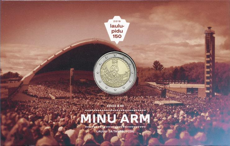 Estland 2 Euro 2019 Liederfestival Coincard