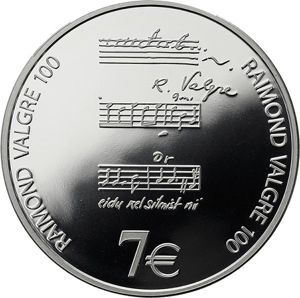 Estland 7 Euro 2013 R. Valgre
