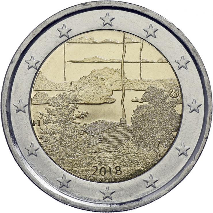 Finnland 2 Euro 2018 Finnische Saunakultur