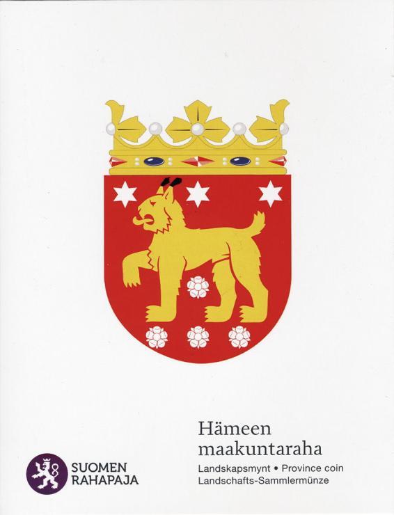 Finnland 5 Euro 2011 3. Provinz Häme, Folder