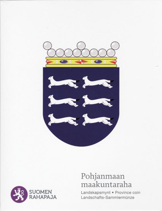 Finnland 5 Euro 2011 7. Provinz Ostbottnien, Folder