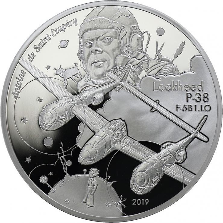 Frankreich 10 Euro 2019 Lockhead P-38