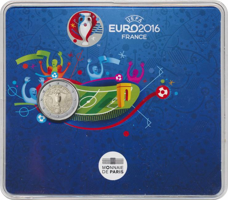 Frankreich 2 Euro 2016 Fußball-EM 2016 im Blister