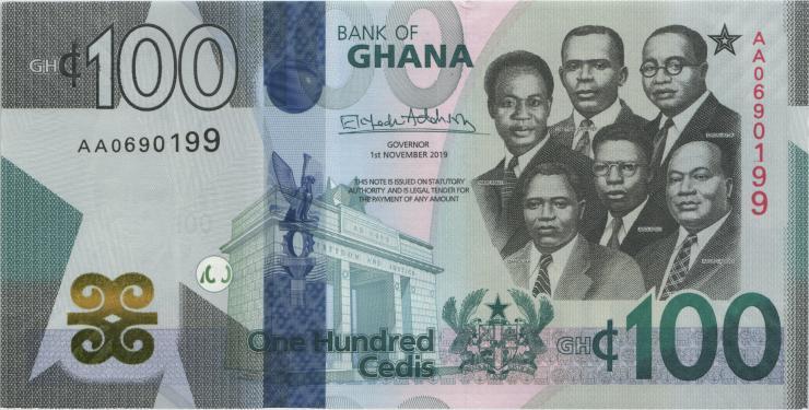 Ghana P.neu 100 Cedis 2019 (1)