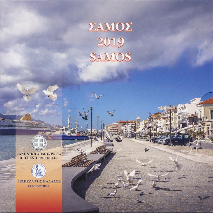 "Griechenland Euro-KMS 2019 ""Samos"""