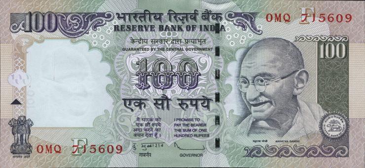Indien / India P.098i 100 Rupien 2010 (1)