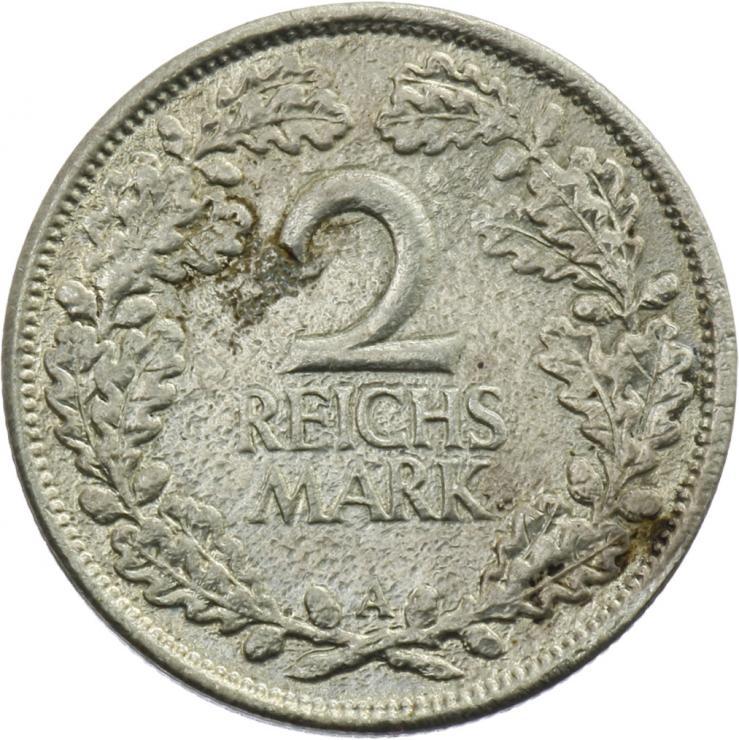J.320 • 2 Reichsmark 1925 A