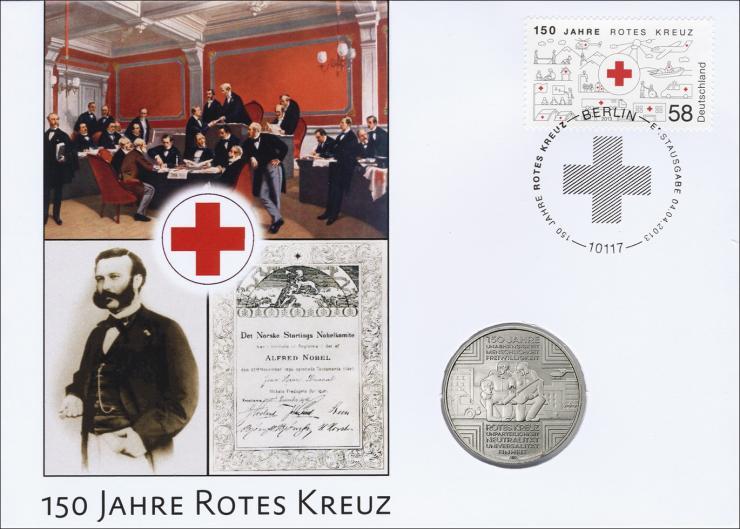 L-8820 • 150 Jahre Rotes Kreuz