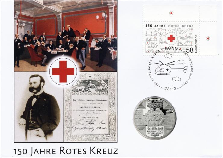 L-8829• 150 Jahre Rotes Kreuz PP