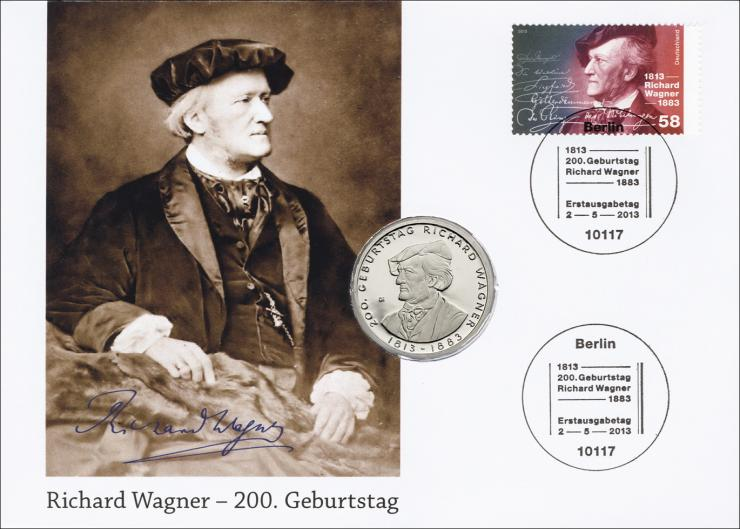L-8840 • Richard Wagner - 200. Geburtstag