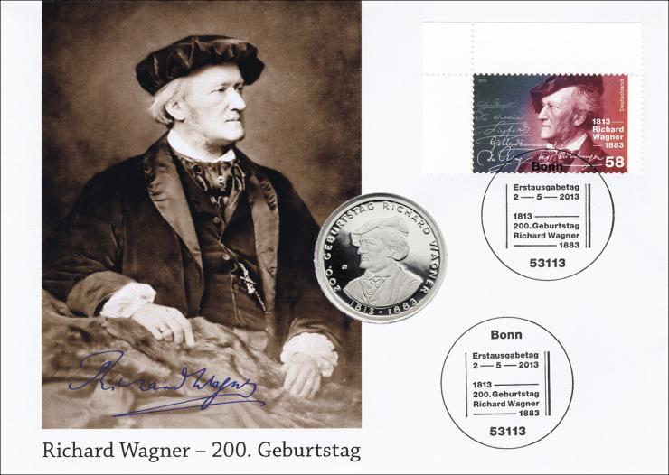 L-8849 • Richard Wagner - 200. Geburtstag PP