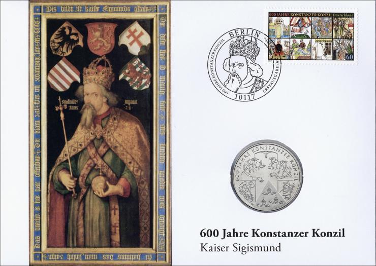 L-8910 • 600 Jahre Konstanzer Konzil - Kaiser Sigismund