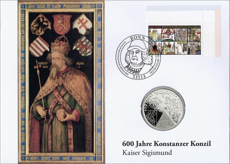 L-8919 • 600 Jahre Konstanzer Konzil - Kaiser Sigismund PP