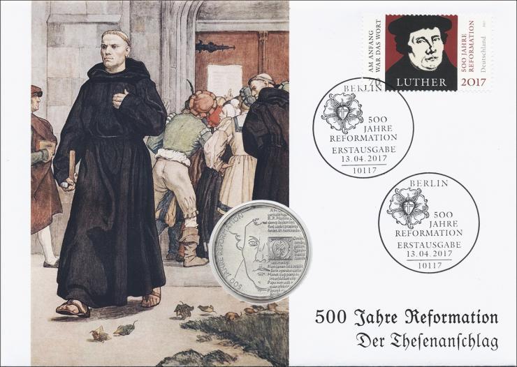 L-9120 • 500 Jahre Reformation - Der Thesenanschlag