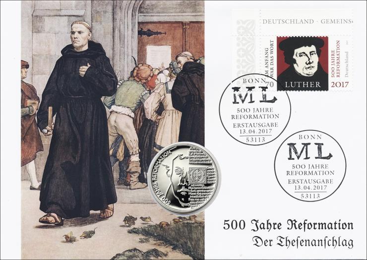L-9125 • 500 Jahre Reformation - Der Thesenanschlag PP-Ausgabe