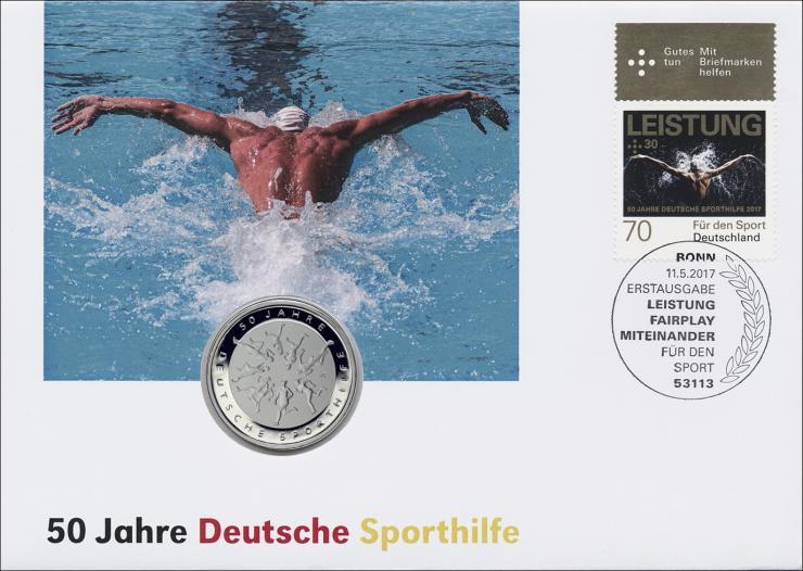 L-9135 • 50 Jahre Deutsche Sporthilfe PP-Ausgabe