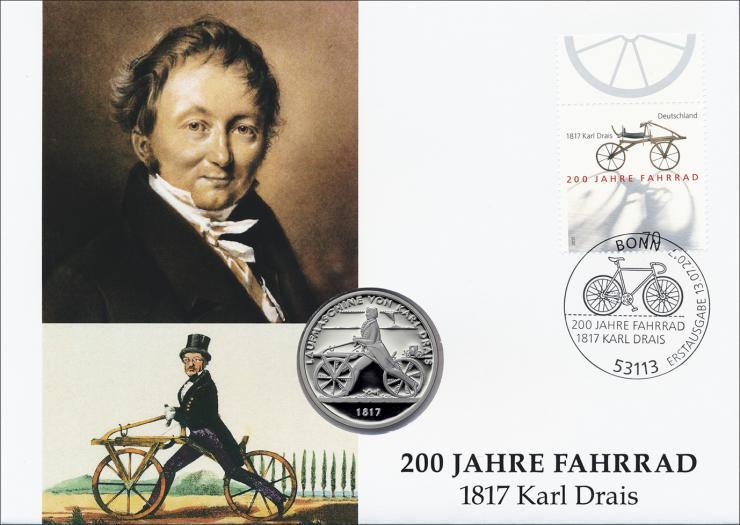 L-9165 • 200 Jahre Fahrrad - Karl Drais PP-Ausgabe