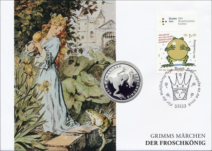 L-9185 • Der Froschkönig PP-Ausgabe