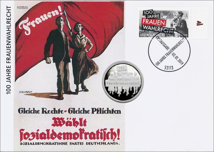 L-9275 • Frauenwahlrecht PP-Ausgabe