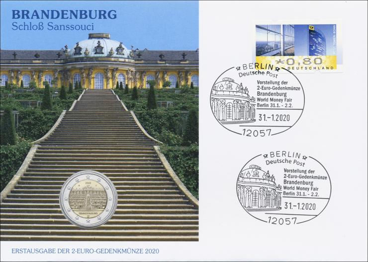 L-9360 • Brandenburg - Schloß Sanssouci