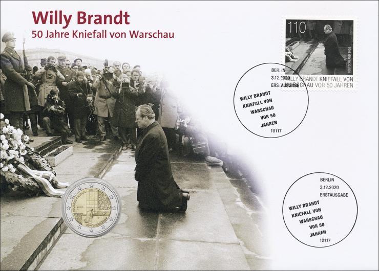 L-9430 • Willy Brandt - 50 Jahre Kniefall von Warschau