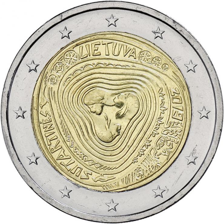 Litauen 2 Euro 2019 Litauische Volkslieder - Sutartines