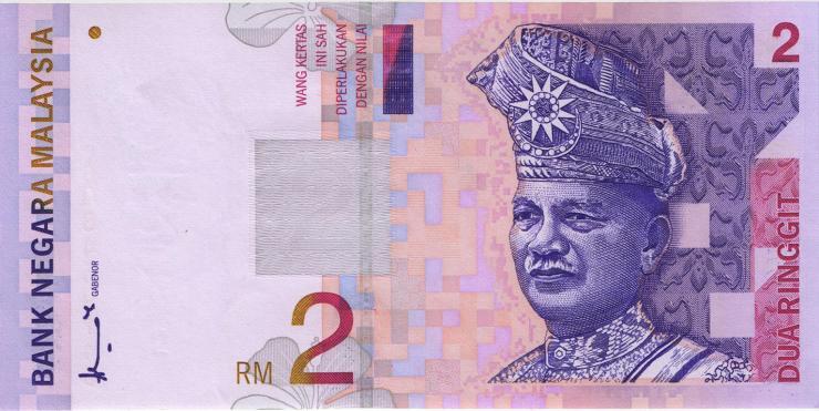 Malaysia P.40a 2 Ringgit (1996-99) (1)