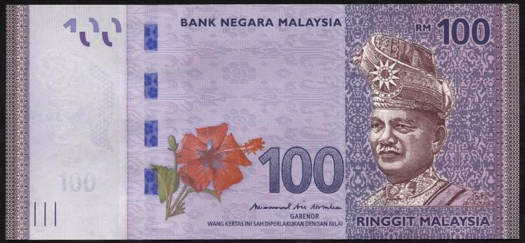 Malaysia P.56b 100 Ringgit (2018) (1)