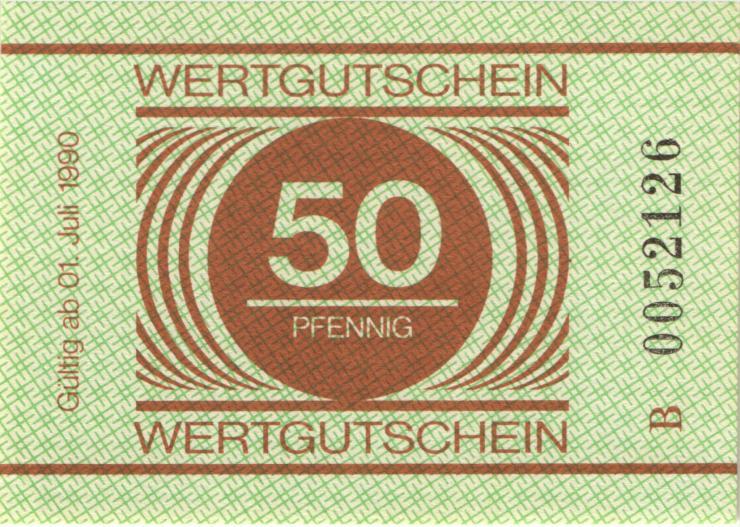 MDI-37 DDR Gefängnisgeld 50 Pfennig (1990) (1-)