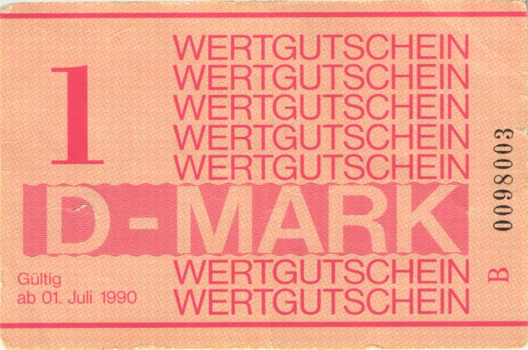 MDI-38 DDR Gefängnisgeld 1 DM (1990) (2)