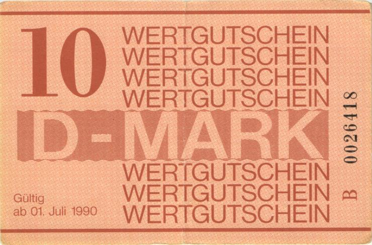 MDI-40 DDR Gefängnisgeld 10 DM (1990) (3)