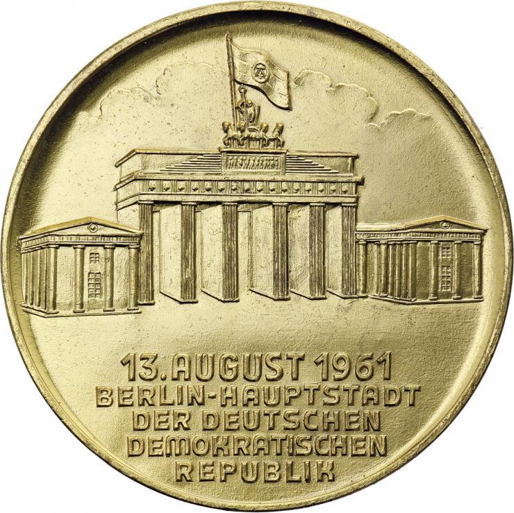 NVA Ehrenmedaille 13. August 1961 für Ehrengäste